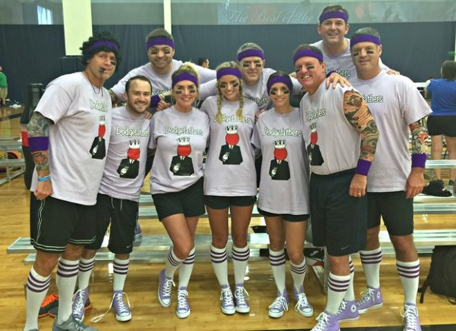 Dodgeball Team Names iron on transfers